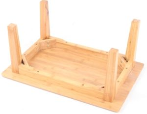 Simple Design Square Table /Bamboo Table /Tea Table (QW-PCSG06) pictures & photos