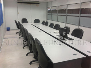 Modern Wood Meeting Table with Power Socket (SZ-MT032) pictures & photos