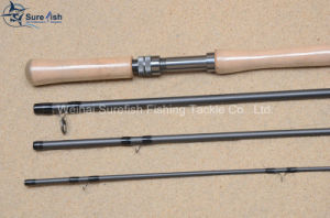 Toray Carbon Fiber Switch Salmon Fly Fishing Rod pictures & photos