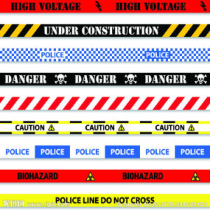 Varied Type Traffic Safety Barricade Tape pictures & photos