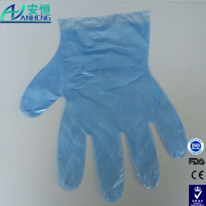 Food Grade Clear Disposable Protective Plastic PE Gloves pictures & photos