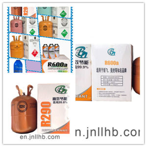 Wholesale Eco-Friendly Refrigerant R600A with 99.9% Purity