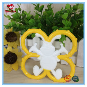 Double Color Dummy Spider Silicone Teether pictures & photos