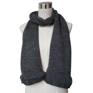 2015 New Pashmina Wool Knitted Scarf for Ladies (YKY4377-4) pictures & photos