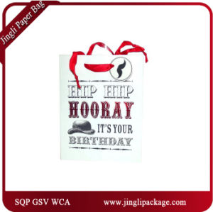 Premium Quality Art Paper Gift Bags Customized Design Art Glossy Laminated Paper Shopping Bag pictures & photos