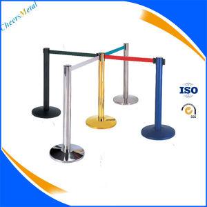 Belt Stanchion Strap Barrier Crowd Control Pole Queue Stand pictures & photos