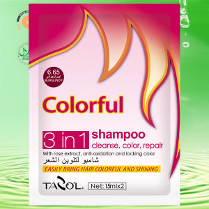 15ml*2 Tazo′l Hair Color Shampoo pictures & photos