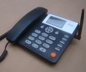 Dual SIM Card GSM Fixed Wireless Telephone pictures & photos