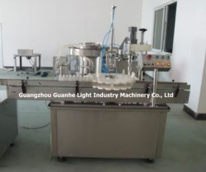 Automatic Spray Liquid Filling Capping Machine for Spray Bottles pictures & photos
