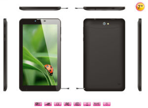 Mtk8312 Dual Core Android 4.2.2 512m 8GB GPS GSM WCDMA 3G 7 Inch Android Phone Call Tablet PC