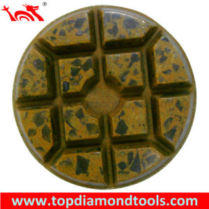 Hybrid Metal and Resin Bond Concrete Polishing Pads pictures & photos