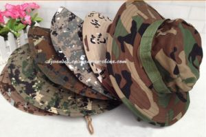 Unique Design Proper Price Military Camouflage Fisherman Hat (V12101) pictures & photos