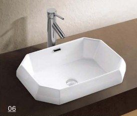Hot Selling Wash Basin with Bathroom Accessories (W7167) pictures & photos