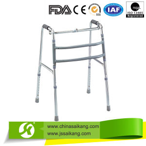 Shinning Silver Aluminum Walkers for Old People pictures & photos