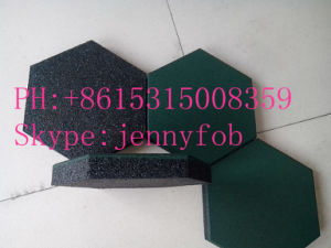 Outdoor Palyground Rubber Flooring, Rubber Gym Floor Mat pictures & photos