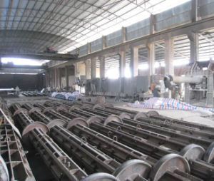 Pre-Stressed Concrete Spun Pole Mould Production Line pictures & photos