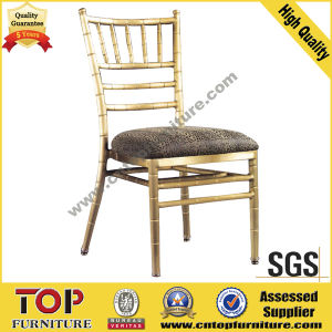 Aluminum Stackable Chiavari Chair for Wedding Banquet pictures & photos