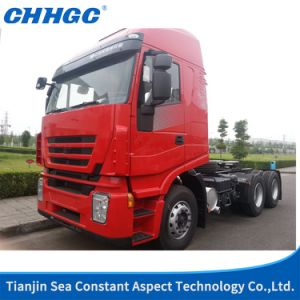 Low Price Saic Hongyan 330HP 4X2 Truck Head / Trailer Head/ Tractor Truck of Euro 2 pictures & photos
