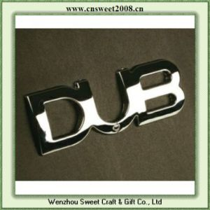 Letter Dub Plastic Car Badge ABS Emblem (S1M065) pictures & photos