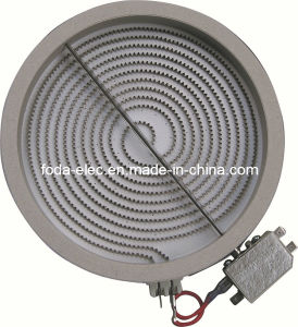 Simplex Winding Radiant Infrared Coil Heating Element Plate