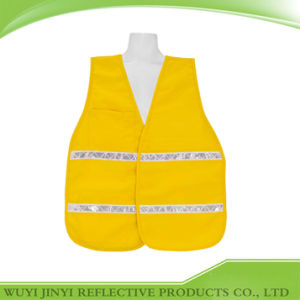 100% Polyester Solid Fabric Safety Vest