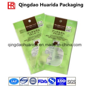 Flat Snacks Food Packaging Bag with Round Hang Hole pictures & photos