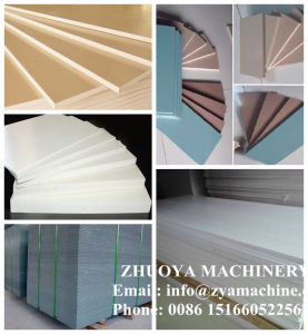 PVC WPC Celuka Foam Board Plastic Machine for Indoor Furniture (3-25) pictures & photos