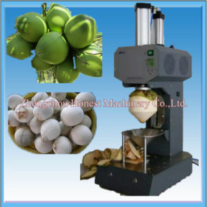 Automatic Electric Tender Young Coconut Peeling Machine pictures & photos