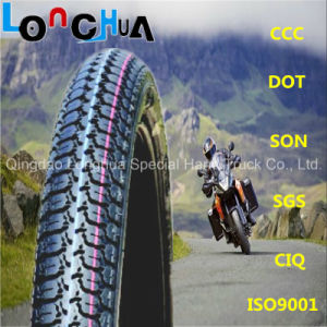 DOT Certified Motorcycle Tire for Dubai Market (2.25-19) pictures & photos