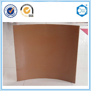 Curved Copper Facade Aluminum Honeycomb Core Sandwich Panel pictures & photos