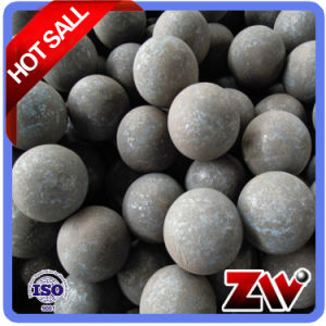 High Hardness B2 and 65mn Mateial Forged Grinding Ball (dia40mm) pictures & photos