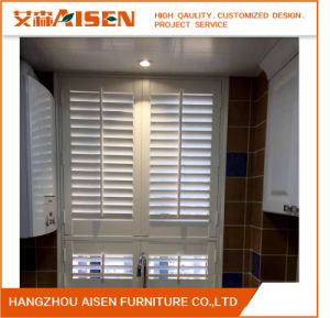 Good Quality Adjustable Home Furniture White Window Shutter pictures & photos
