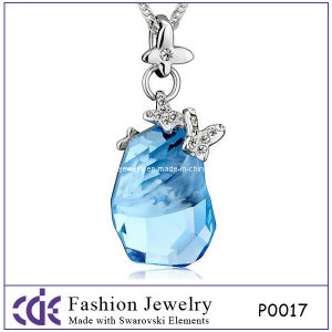 Fashion Genuine Austrian Crystal Pendant Necklace P0017
