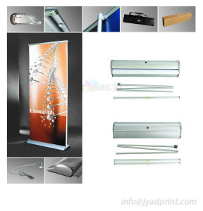 Custom High Quality Promotion Display +1 Light Roll Up Banner Stand pictures & photos