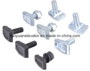 T Forged Guide Rail Clip for Elevator Parts pictures & photos