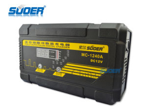 Suoer Digital Display Entire Pulse Battery Charger 12V 40A Universal Auto Battery Charger (MC-1240A) pictures & photos