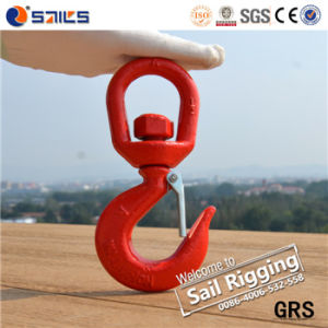 Steel Drop Forged S322 Heavy Lifting Swivel Hook pictures & photos