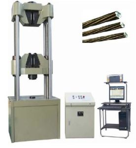 Servo Hydraulic Steel Strand Testing Machine TIME WAW-1000L pictures & photos