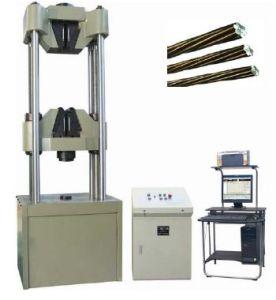 Servo Hydraulic Steel Strand Testing Machine WAW-1000L pictures & photos