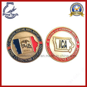 Military Coin with Soft Enamel, Sand-Blast Coin pictures & photos