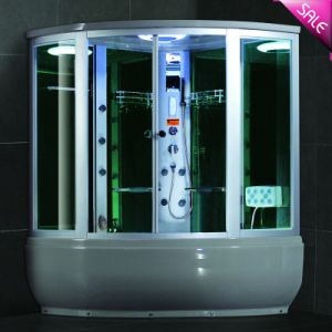 luxury walk in shower bathtub shower room combination sr608