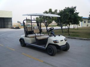 Hot EEC-Approved 4 Seater Electric Golf Car pictures & photos