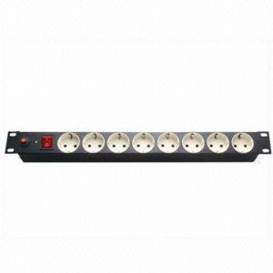 Germany Plug Socket 8-Way 16A PDU pictures & photos