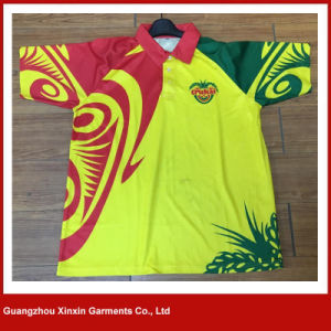Custom Made Sublimation Printing Polyester Polo Shirts (P144) pictures & photos