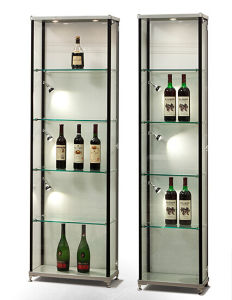 Aluminum Portable Exhibition Display Cabinet For Wine Cabinet