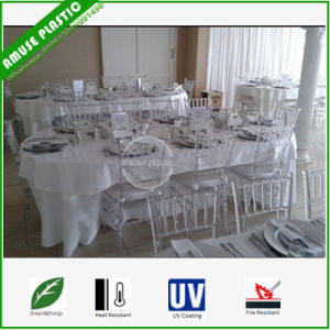 Plastic Wedding Chiavari Chairs Gold Supplier pictures & photos