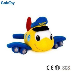 High Quality Custom Plush Airplane Stuffed Soft Toy pictures & photos