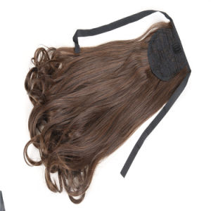 Human Hair Ponytail, Ponytail Hair Extension for Black Women pictures & photos