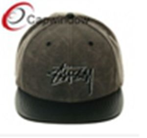 Leather Visor Leisure Promotional Baseball Cap/Snapback Hat (01149) pictures & photos