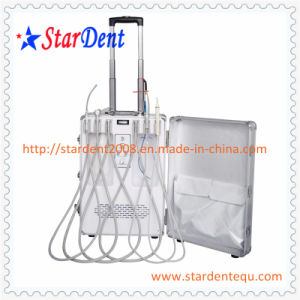Portable Dental Unit of Hospital Medical Lab Surgical Equipment (Electronic Control System) pictures & photos